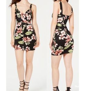 🆕 NWT GUESS Corrine Azalea Ruched Bodycon Dress